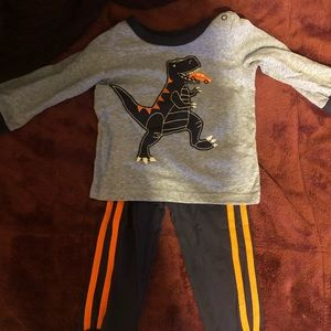 Carter's Dino Outfit